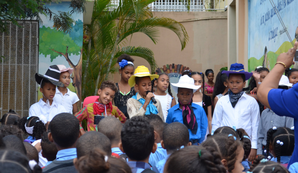 Children in Dominican Republic